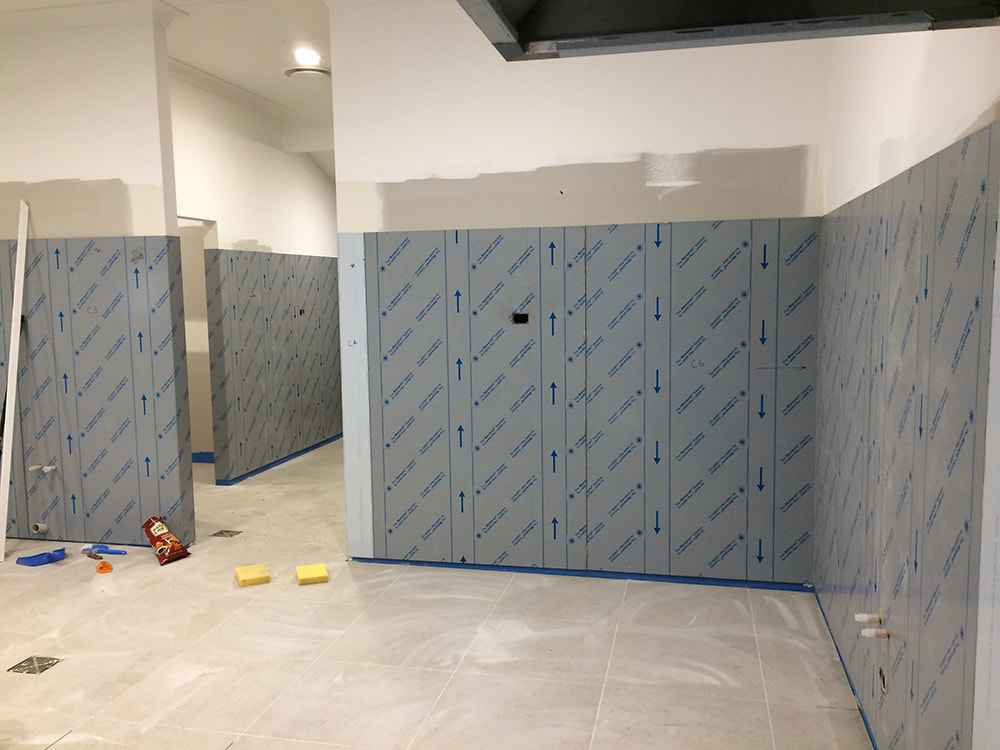 stainless steel wall panel/ splash back – absolute commercial kitchens